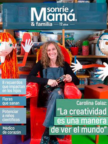 revista sonríe mamá edición julio agosto 2017