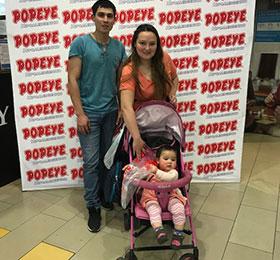 Popeye en Mall Plaza Puente