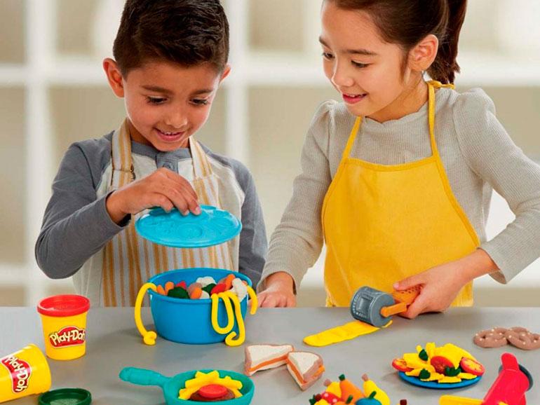 Clase de cocina con masitas para ni os sonr e mam - Cocina play doh ...