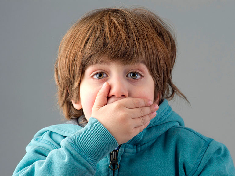 Muchos niños dicen groserías