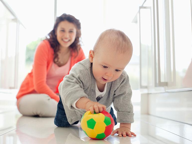 Es muy importante vigilare el desarrollo psicomotor del bebé