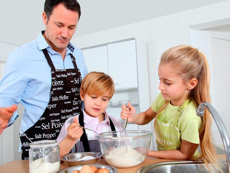 Ideas para cocinar con niños   Sonríe Mamá
