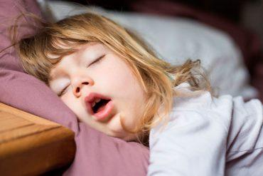 El ronquido en niños suele preocupar a los padres