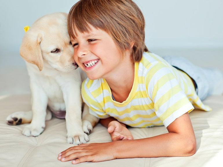 Es bueno que los niños tengan mascotas