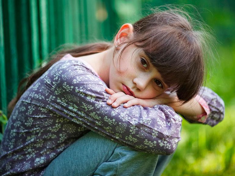 Los niños pueden sufrir estrés