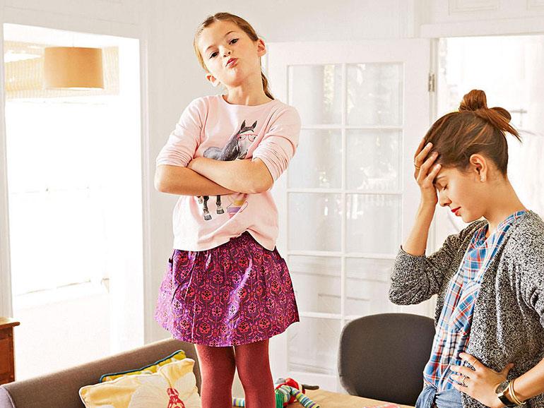 Cuando un hijo es insolente los padres se resienten