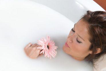 La leche en productos cosméticos ayuda a la piel