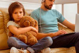 Las actitudes de los padres influyen en los niños