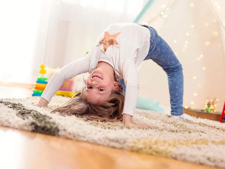 Hay muchos casos de niños hiperlaxos
