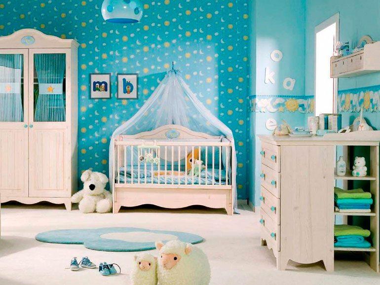 El dormitorio de tu hijo debe ser un espacio de calma