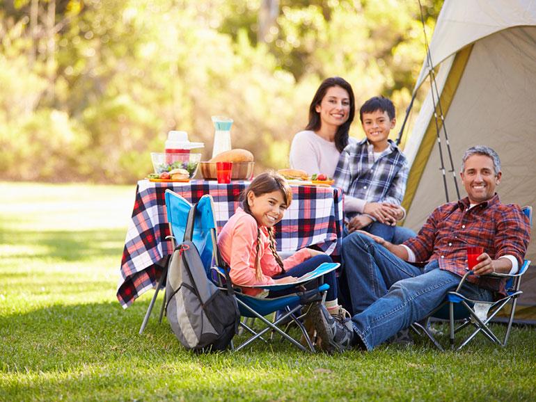 Familia previniendo el virus hanta