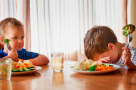 niños que no comen bien o son mañosos