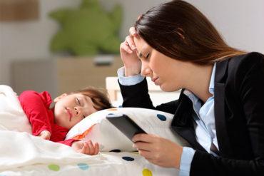 estrés en padres