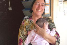 Antonieta Lazárraga y su trabajo con niños