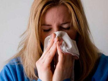 Mujer con posible coronavirus