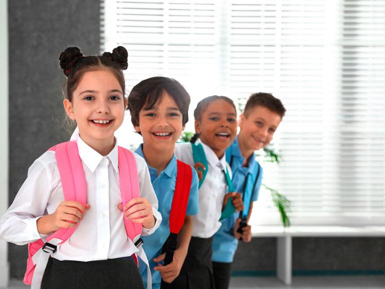 Los niños se sienten nerviosos el primer día de clases