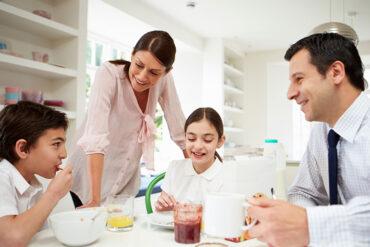 Familia retomando las rutinas