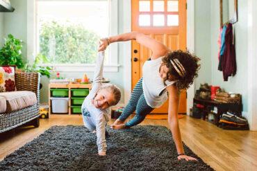 La actividad física en casa puede ser beneficiosa