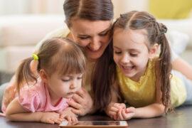 Las apps pueden entregar algunos contenidos a preescolares