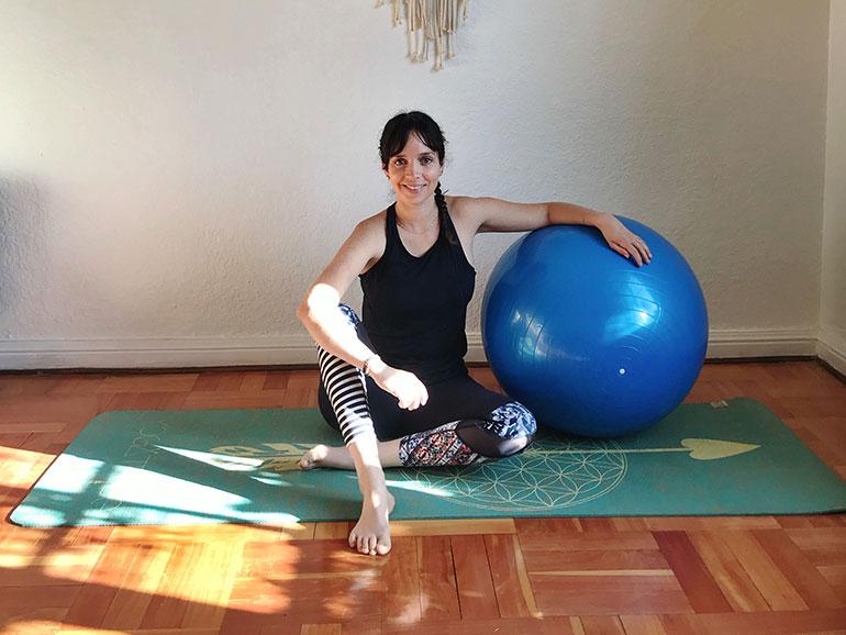 La embarazada puede beneficiarse del yoga