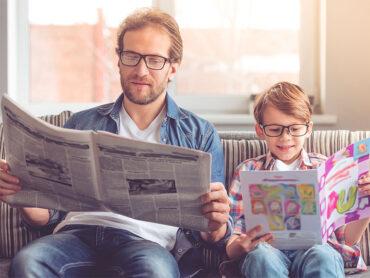 Los padres son modelos para los hijos
