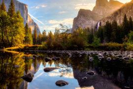 Un hermoso paisaje del mundo