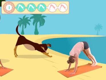 El yoga es excelente para los niños