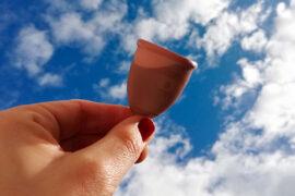 La nueva copa menstrual Mialuna está hecha con cobre