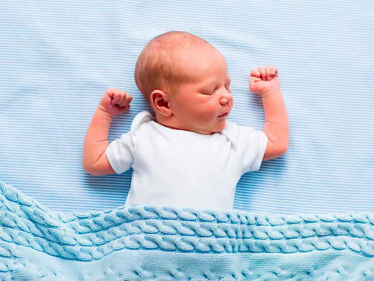 El sueño y el mal dormir del bebé preocupan a los padres