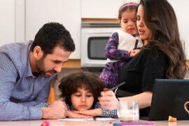 Cada familia vive la pandemia de manera distinta