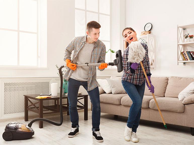 La limpieza de la casa ayuda a tu bienestar