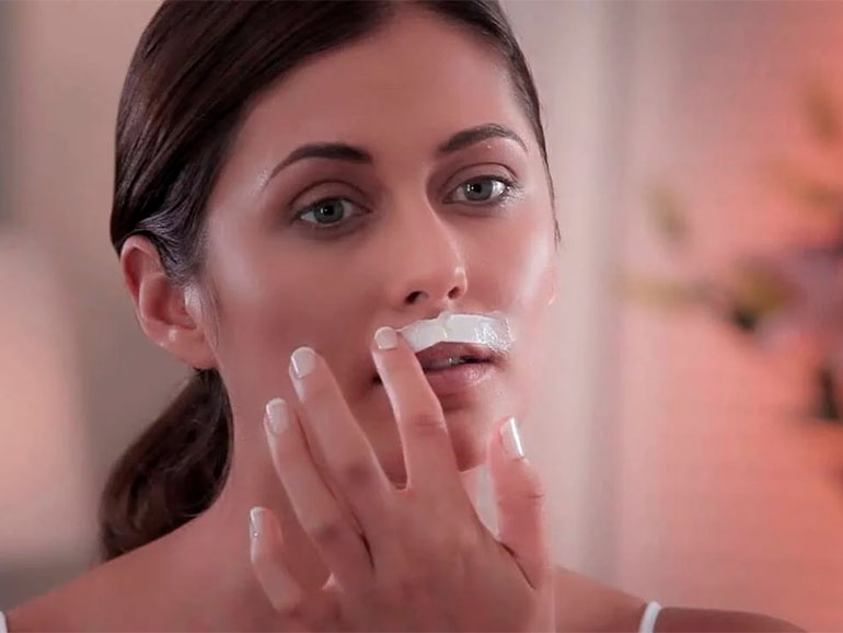 En la zona del bigote pueden salir manchas molestas