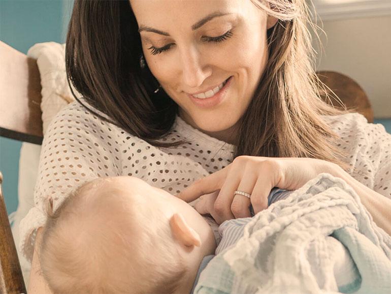 La lactancia es lo mejor para el bebé