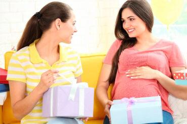 El baby shower es una buena instancia para la mamá