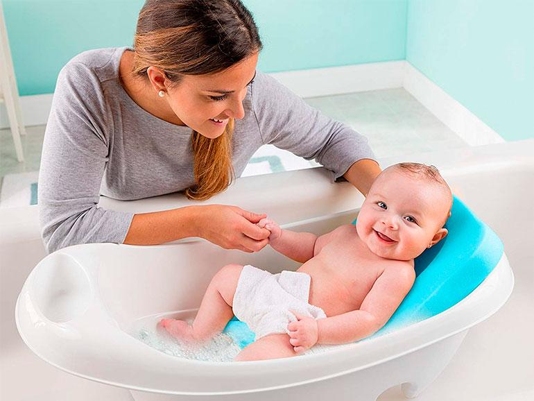 El baño del bebé debe ser placentero