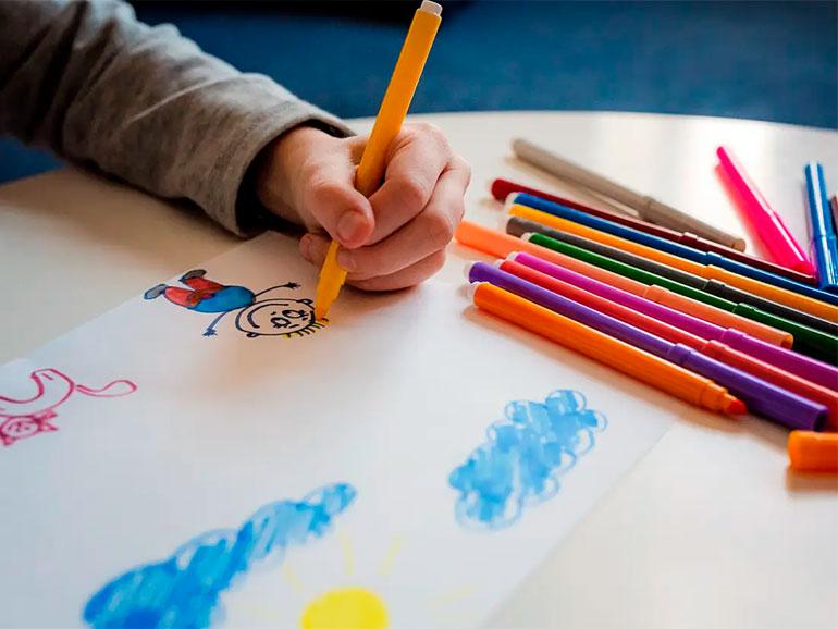 El dibujo infantil puede interpretarse