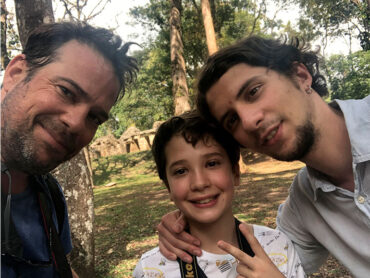 La vida de padre de Gaspar Domínguez