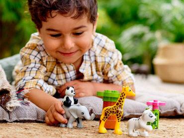Los juguetes entretienen y educan