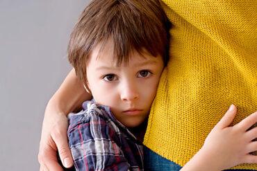 Tener miedo es algo normal en los niños