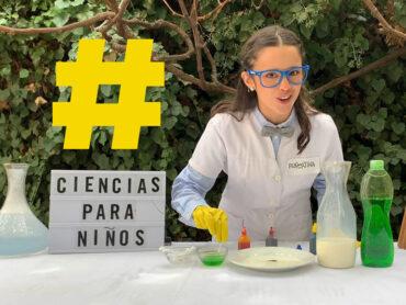 Rupertina enseña ciencia a niños
