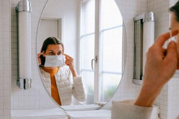 Las mascarillas pueden irritar la piel