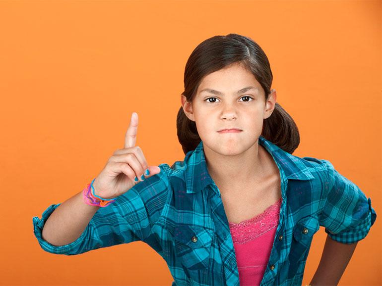 Los hijos deben aprender autocontrol