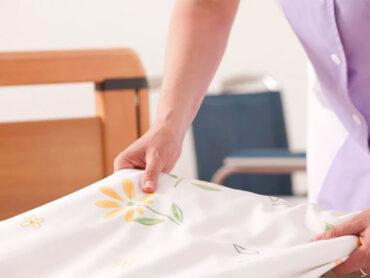 El orden de sábanas y toallas es importante