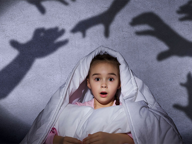 Los miedos de los niños a veces son muchos