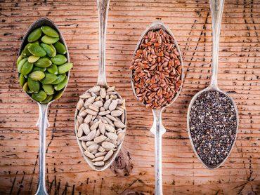 Las semillas son importantes en la dieta