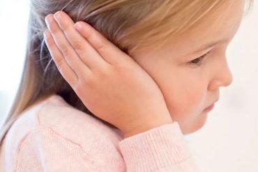 Los oídos de los niños deben cuidarse