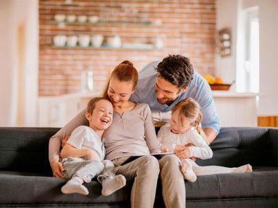 Las familias felices logran muchas cosas