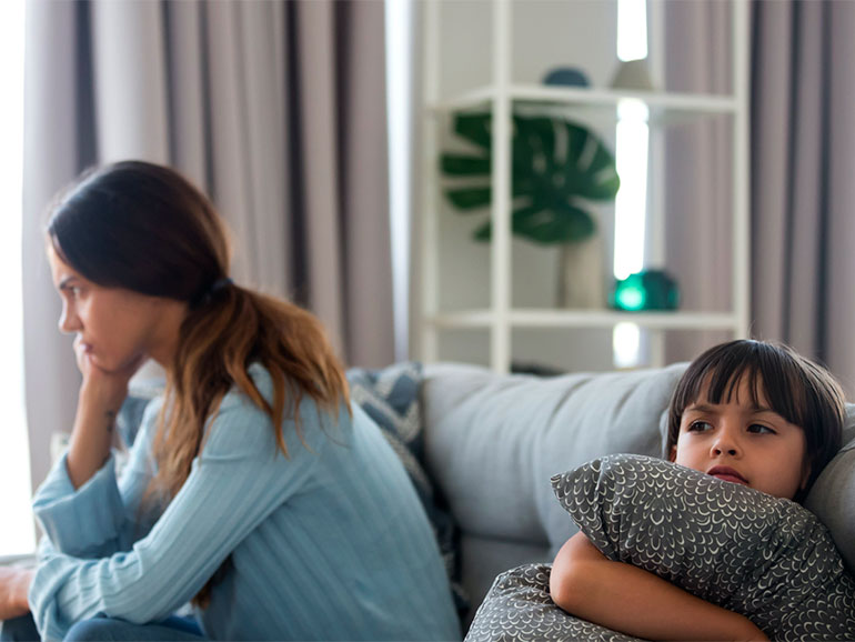 Los padres o madres a veces no logra disciplina