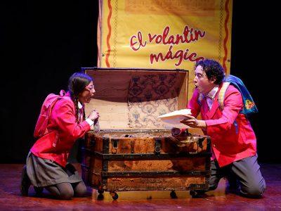 """""""El volantín mágico"""" es una obra familiar"""