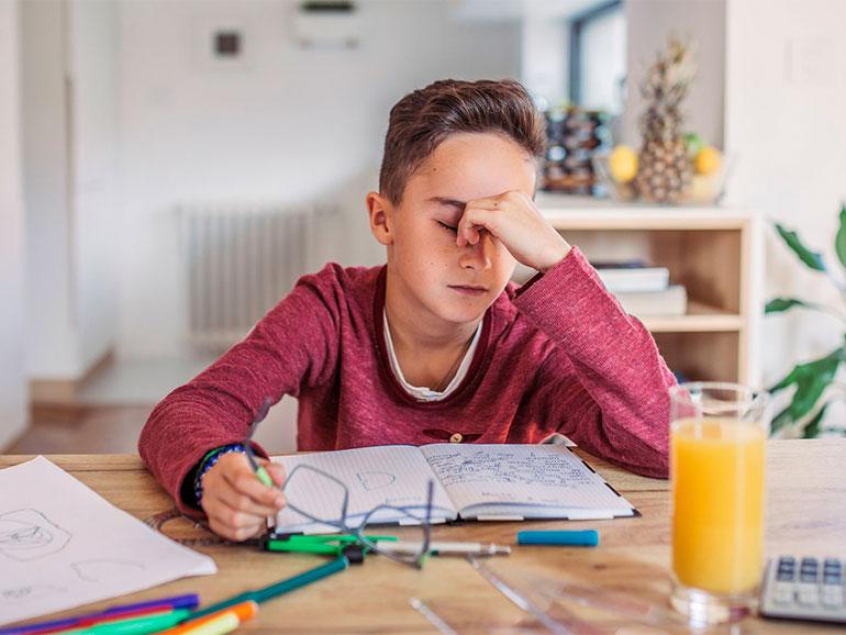 Un hijo muy autoexigente puede generar ansiedad